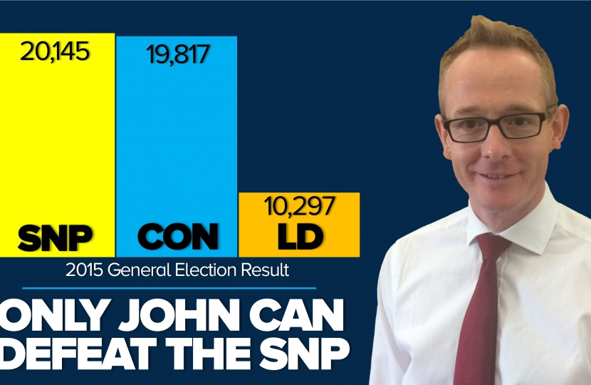 Only John can beat the SNP