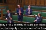 Embedded thumbnail for Lamont seeks assurances about supplies of medicines to the Borders after Brexit